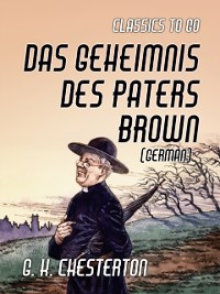 Cover Das Geheimnis des Paters Brown (German)