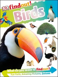 Cover DKfindout! Birds