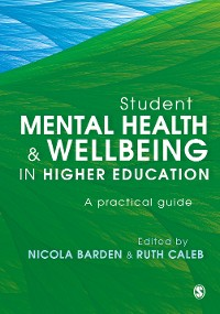 Cover Student Mental Health and Wellbeing in Higher Education