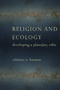Cover Religion and Ecology