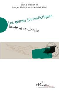 Cover Les genres journalistiques - savoirs et savoir-faire