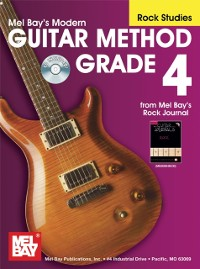 Cover &quote;Modern Guitar Method&quote; Series Grade 4, Rock Studies