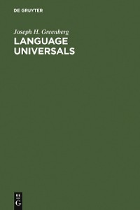 Cover Language Universals