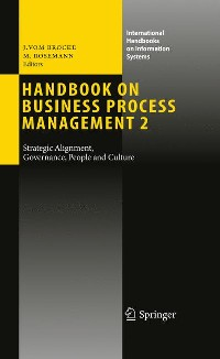 Cover Handbook on Business Process Management 2