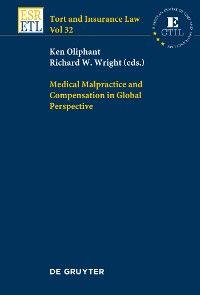 Cover Medical Malpractice and Compensation in Global Perspective