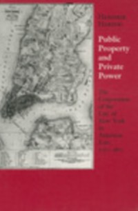 Cover Public Property and Private Power