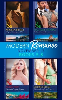 Cover Modern Romance Collection: November 2017 Books 5 - 8 (Mills & Boon e-Book Collections)