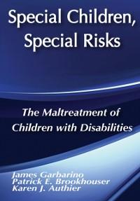 Cover Special Children, Special Risks