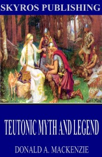 Cover Teutonic Myth and Legend