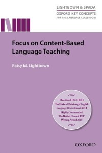 Cover Focus on Content-Based Language Teaching - Oxford Key Concepts for the Language Classroom