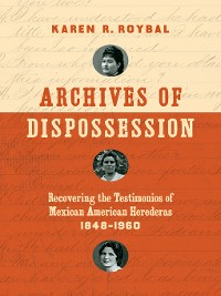 Cover Archives of Dispossession