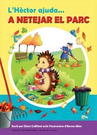 Cover L'Hector ajuda a netejar el parc