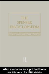 Cover Spenser Encyclopedia