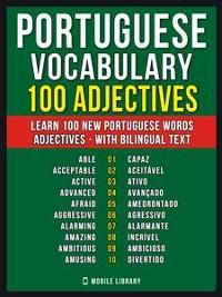 Cover Portuguese Vocabulary - 100 Adjectives