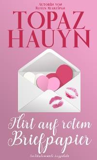 Cover Flirt auf rotem Briefpapier
