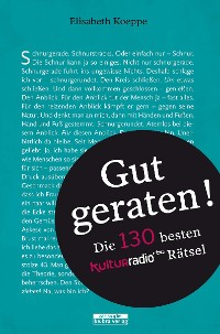 Cover Gut geraten!