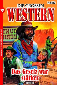 Cover Die großen Western 182