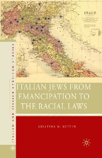 Cover Italian Jews from Emancipation to the Racial Laws