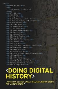 Cover Doing digital history