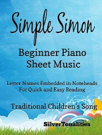 Cover Simple Simon Beginner Piano Sheet Music