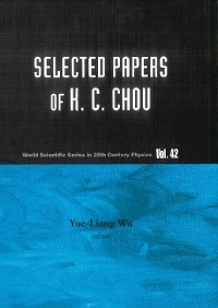 Cover Selected Papers Of K C Chou