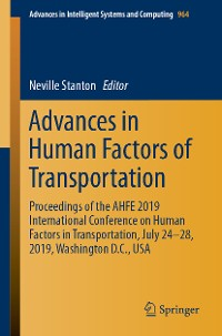 Cover Advances in Human Factors of Transportation