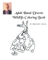 Cover Adult Hand Drawn Wildlife Coloring Book
