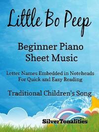 Cover Little Bo Peep Beginner Piano Sheet Music