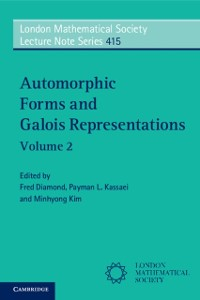 Cover Automorphic Forms and Galois Representations: Volume 2