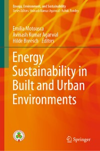 Cover Energy Sustainability in Built and Urban Environments