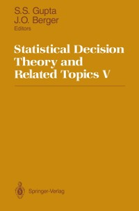 Cover Statistical Decision Theory and Related Topics V