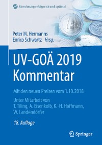 Cover UV-GOÄ 2019 Kommentar