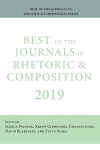 Cover Best of the Journals in Rhetoric and Composition 2019