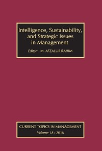 Cover Intelligence, Sustainability, and Strategic Issues in Management
