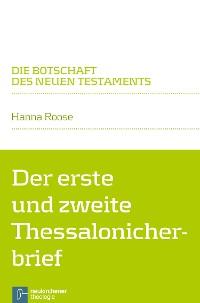 Cover Der erste und zweite Thessalonicherbrief