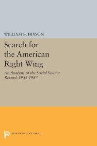 Cover Search for the American Right Wing