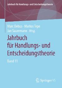 Cover Jahrbuch für Handlungs- und Entscheidungstheorie