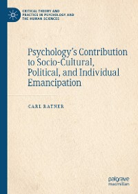 Cover Psychology's Contribution to Socio-Cultural, Political, and Individual Emancipation