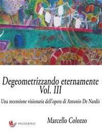 Cover Degeometrizzando eternamente Vol. III