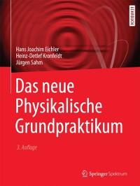 Cover Das neue Physikalische Grundpraktikum