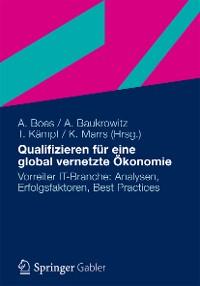Cover Qualifizieren für eine global vernetzte Ökonomie