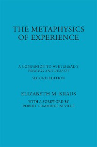 Cover The Metaphysics of Experience