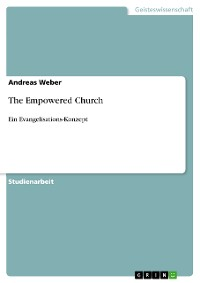 Cover  The Empowered Church