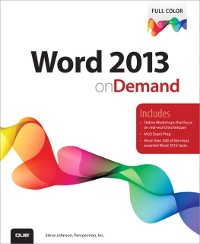 Cover Word 2013 on Demand