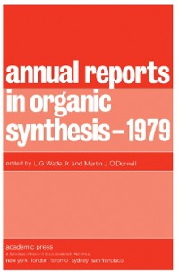 Cover Annual Reports in Organic Synthesis - 1979