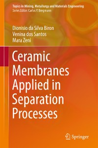 Cover Ceramic Membranes Applied in Separation Processes