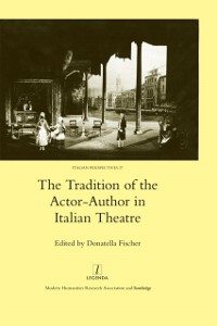 Cover Tradition of the Actor-author in Italian Theatre