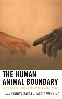 Cover The Human–Animal Boundary