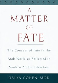 Cover Matter of Fate