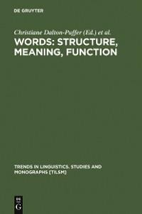 Cover Words: Structure, Meaning, Function